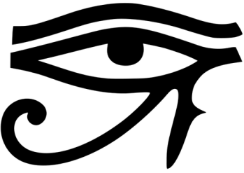 Eye of Horus/All-Seeing Eye or RA. The