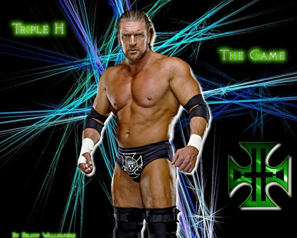 Triple H or HHH (Hunter HEARsT Helmsley–> a scRAM-BULLed hunTOR/TAUR and EARTH/HEART) is a famous wrestler. His symBULL resemBULLS the 4-leaf clover or the      Iron <–(FE – which we will cover soon) Cross. HHH = 8 + 8 + 8 = 24/Jupiter.