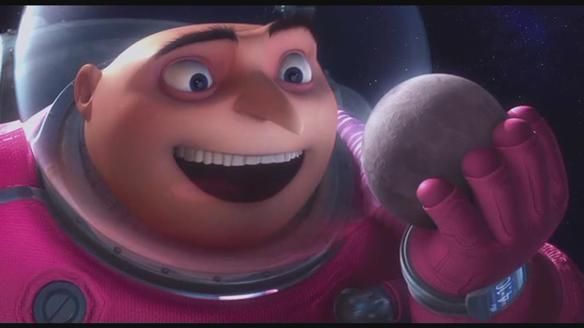Despicable Me Gru Stole The Moon