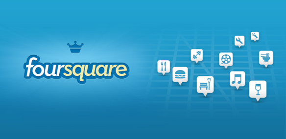 FourSQUARE is also an app for social media. Did you check in...the bOX? :wink: