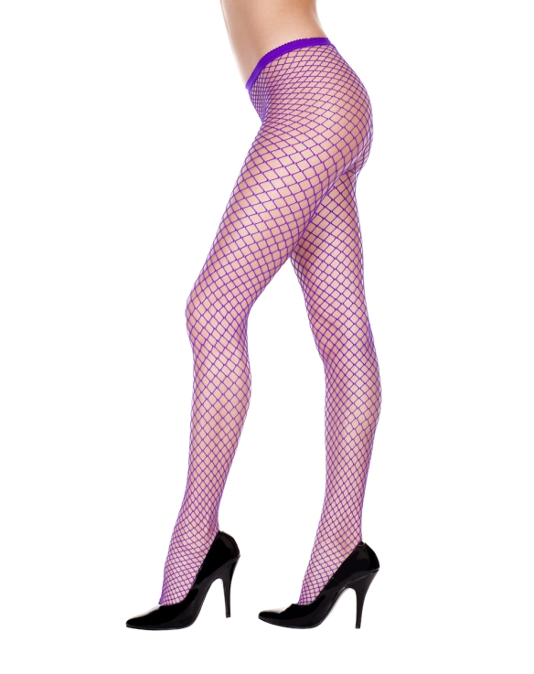 Fishnets and high heels