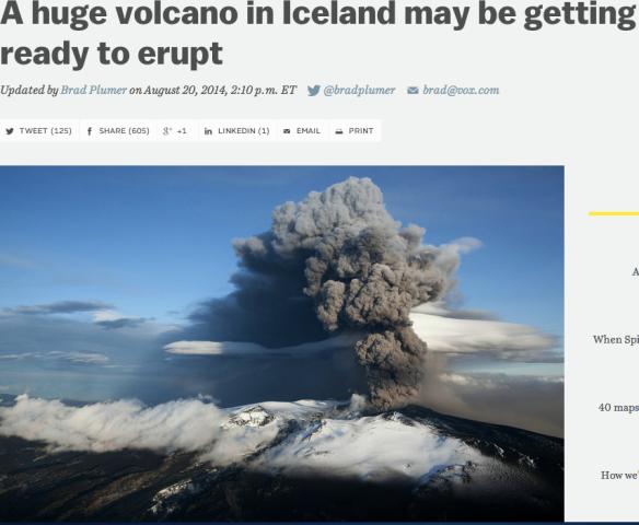volcano Iceland