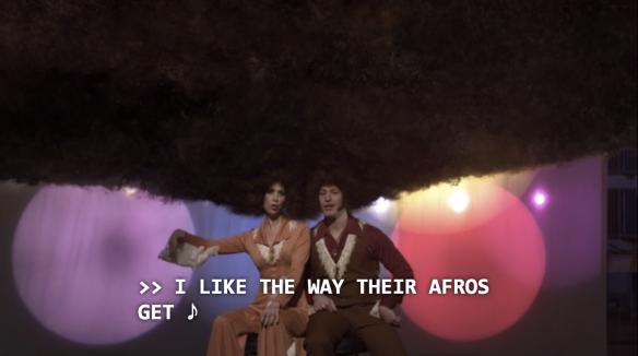 Afros Kristen Wiig SNL