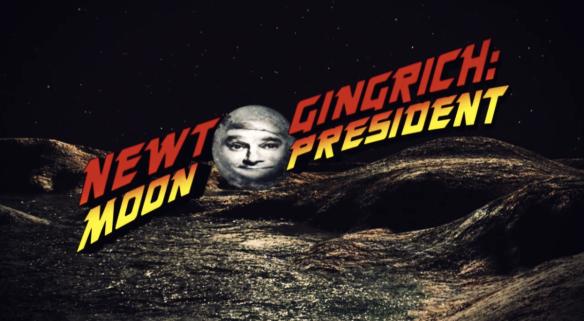 Newt Gingrich: Moon President Kristen Wiig SNL
