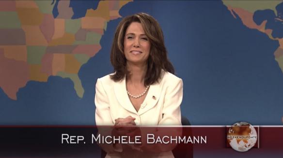 Michele Bachmann Kristen Wiig SNL