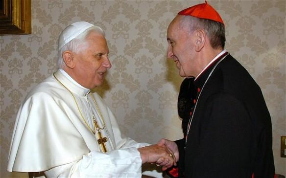 Pope Benedict XVI Pope Francis