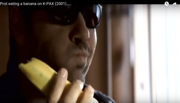 Kevin Spacey K-Pax eating banana