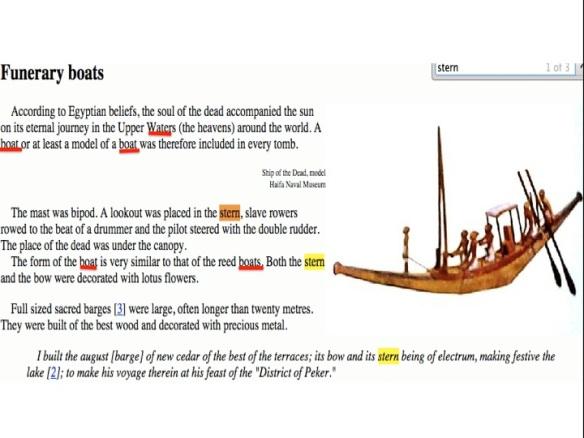 funerary boats