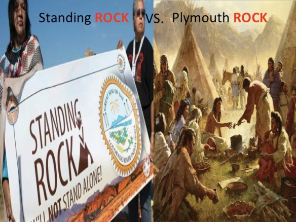 Standing Rock Vs Plymouth Rock