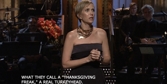 KRISTEN WIIG'S THANKSGIVING MONOLOGUE SNL Season 42