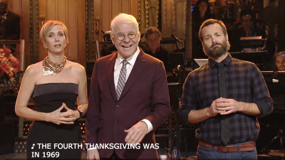 KRISTEN WIIG'S THANKSGIVING MONOLOGUE