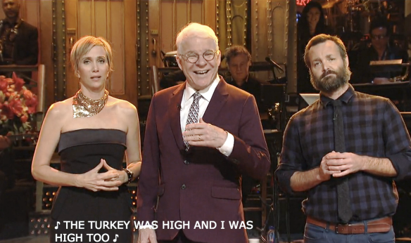 KRISTEN WIIG'S THANKSGIVING MONOLOGUE season 42 SNL