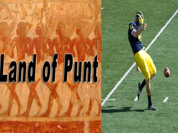 Land of Punt Punting football